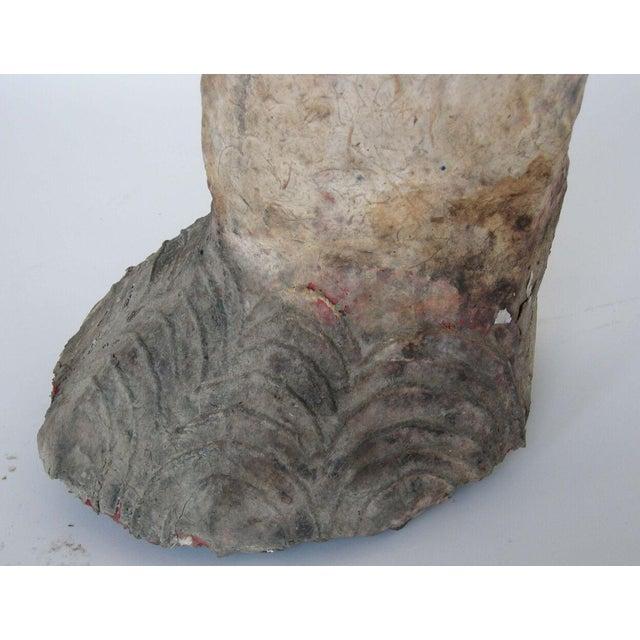 Life Size Papier Mache Elephant - Image 6 of 9