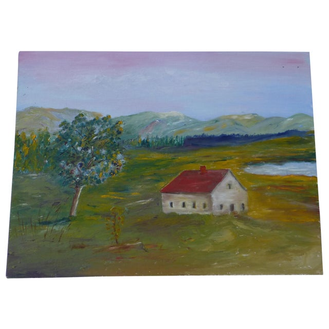 MCM Painting Rural Scene by H.L. Musgrave - Image 1 of 6