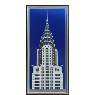 "Richard Haas, ""Chrysler Building"", Photorealist Skyscraper Print For Sale"