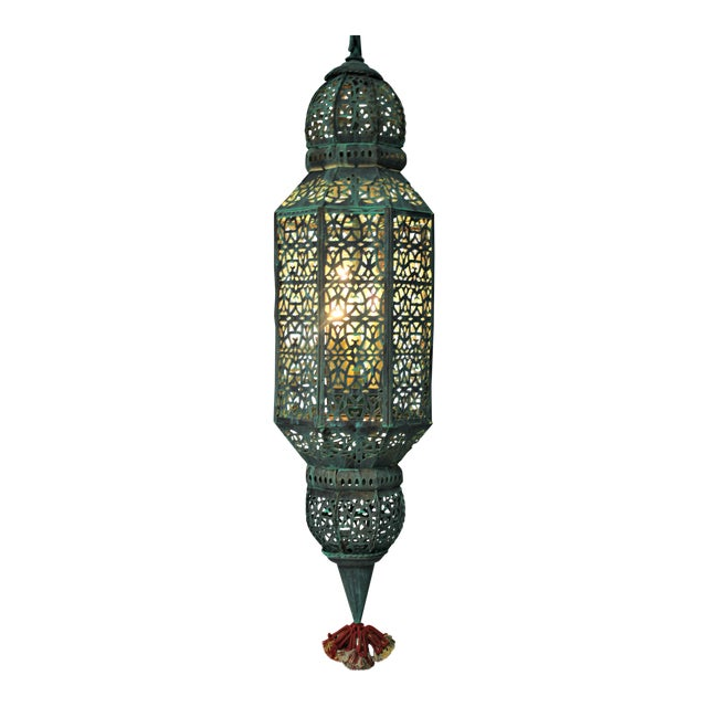 Moroccan Style Hanging Lantern For Sale