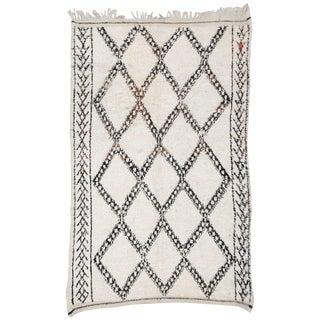 Vintage Beni Ourain Carpet - 5′9″ × 9′