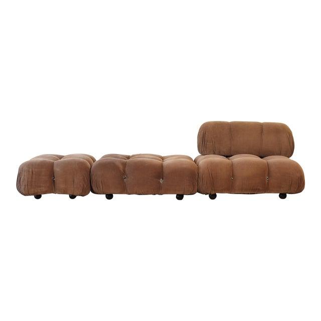 "1970s Vintage Mario Bellini for B&b Italia ""Camaleonda"" Modular Sofa For Sale"