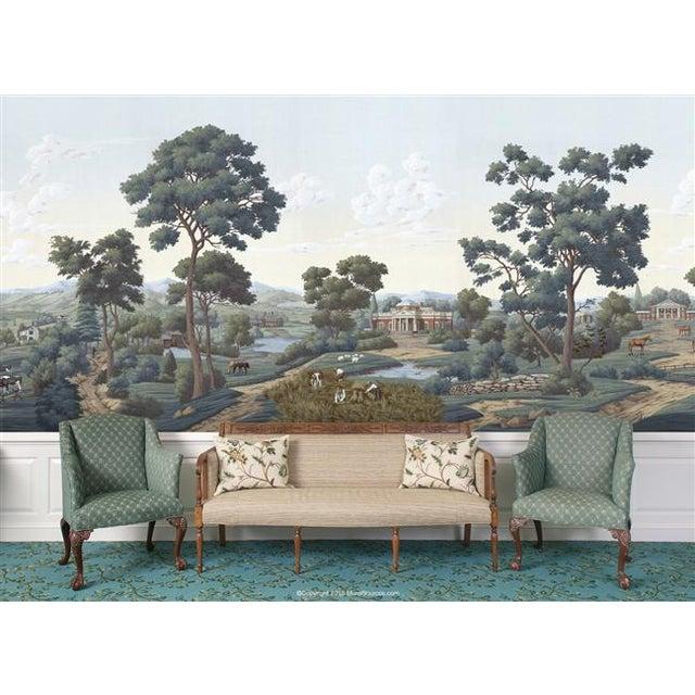 Casa Cosima Casa Cosima Chesapeake Wallpaper Mural - Sample For Sale - Image 4 of 7