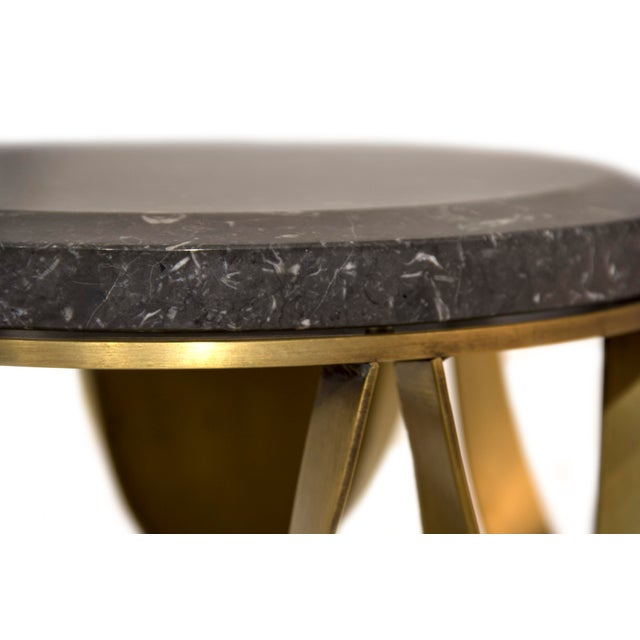 Gold Koi Side Table From Covet Paris For Sale - Image 8 of 9
