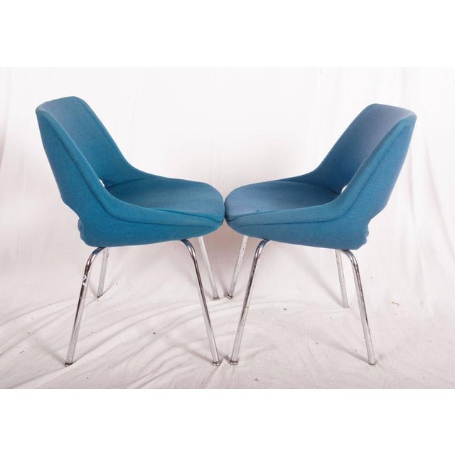 1960s Mid-Century Chairs by Olli Mannermaa for Martela Oy - A Pair For Sale - Image 5 of 11