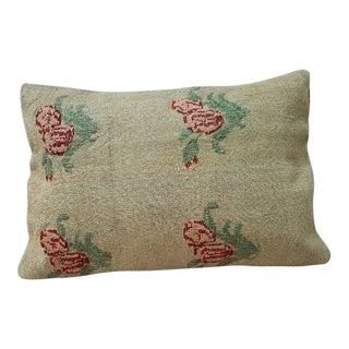 Vintage Kilim Lumbar Pillow For Sale