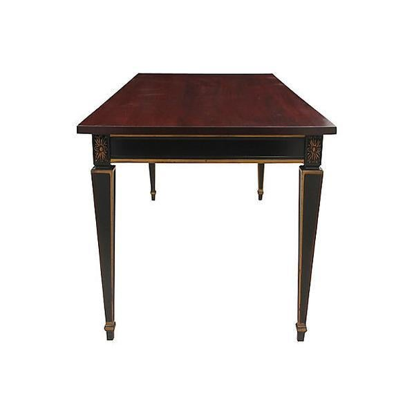 Louis XVI Library Writing Desk - Image 3 of 7