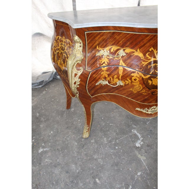 Mid 19th Century Antique French Bombay Commode For Sale - Image 9 of 13