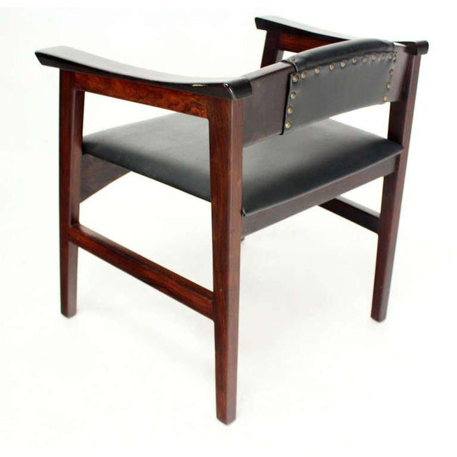 1960s 1960s Vintage Danish Mid-Century Modern Rosewood Dining Chairs - Set of 4 For Sale - Image 5 of 11