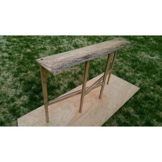 Spalted Oak Slab Console/Sofa Table Preview