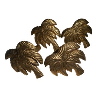 Palm Tree Napkin Holders - Set of 4