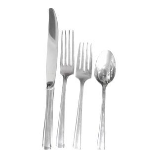 Westmoreland Sterling Silver Service for 9 Flatware - 41 Piece Set For Sale