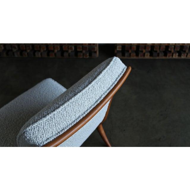 t.h. Robsjohn-Gibbings Slipper Chairs for Widdicomb Circa 1955 For Sale - Image 11 of 12