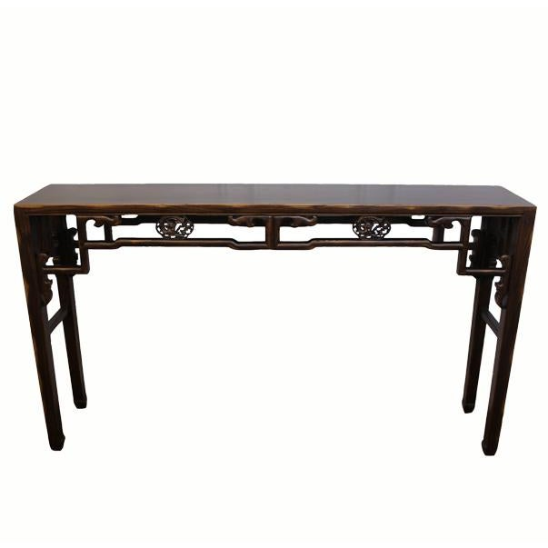 Carved Console Table For Sale - Image 10 of 10