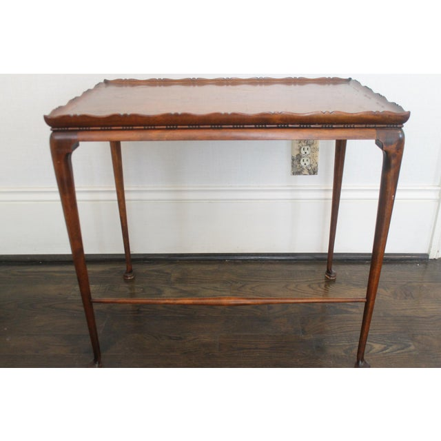 19th Century English Nesting Tables - Set of 3 For Sale - Image 9 of 13