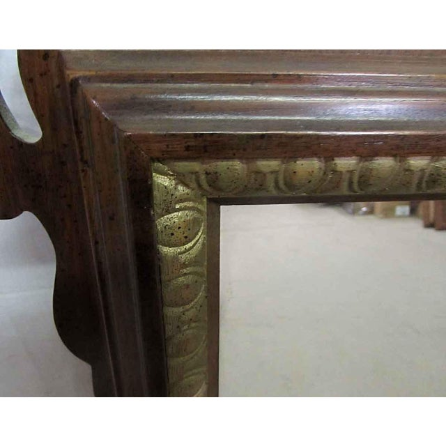 Glass Antique Decorative Wall Mirror For Sale - Image 7 of 8