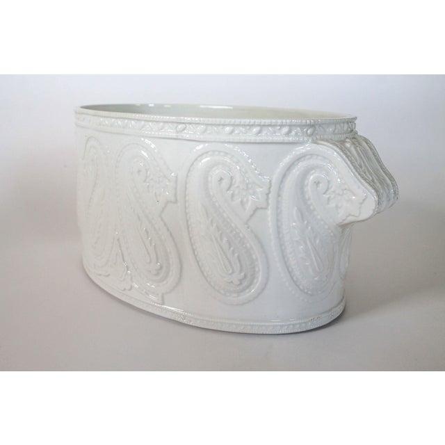Italian Ceramic Planter - Image 2 of 8