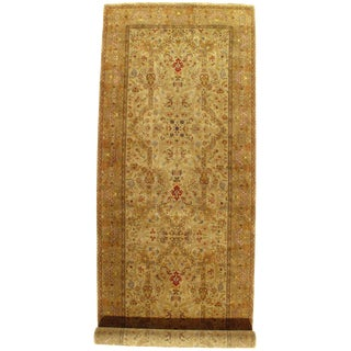 "Pasargad NY Persian Tabriz Design Hand-Knotted Rug - 5'11"" X 17'11"" For Sale"