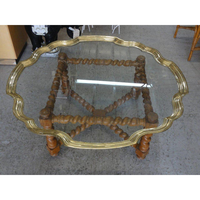 Baker Pie Crust Tray Top Coffee Table - Image 10 of 11