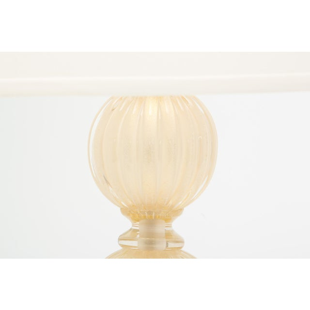 Mid-Century Modern Customizable Murano Glass Lamps For Sale - Image 3 of 10