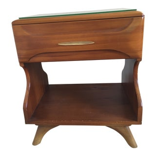 Franklin Shockey Mid-Century Bedside Table For Sale