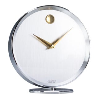Movado Mantle Clock For Sale