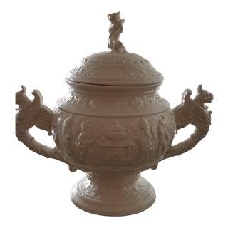 Vintage Large Ceramic Soup Tureen