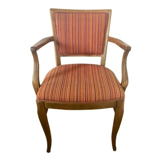 Mid-Century French Provençal Armchair For Sale