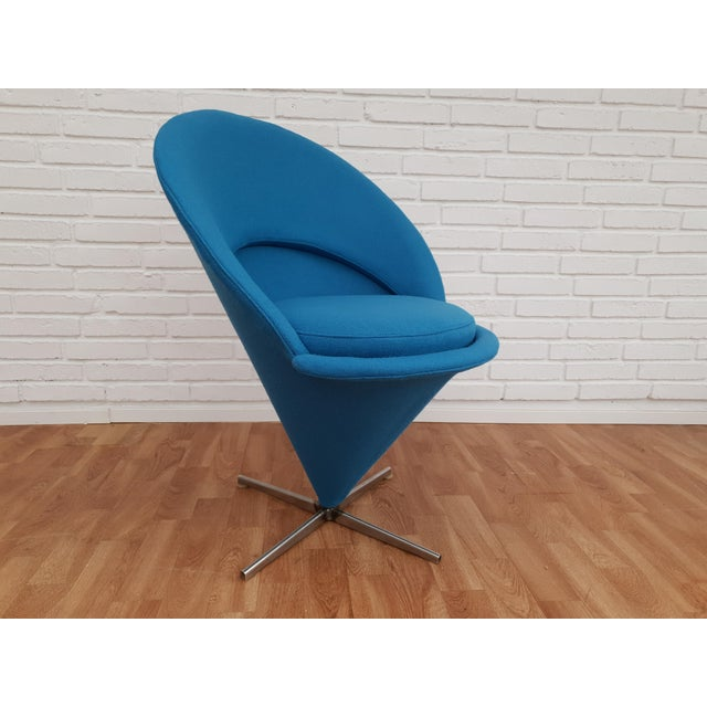"""1970s Vintage Verner Panton """"Cone"""" Chair For Sale - Image 13 of 13"""