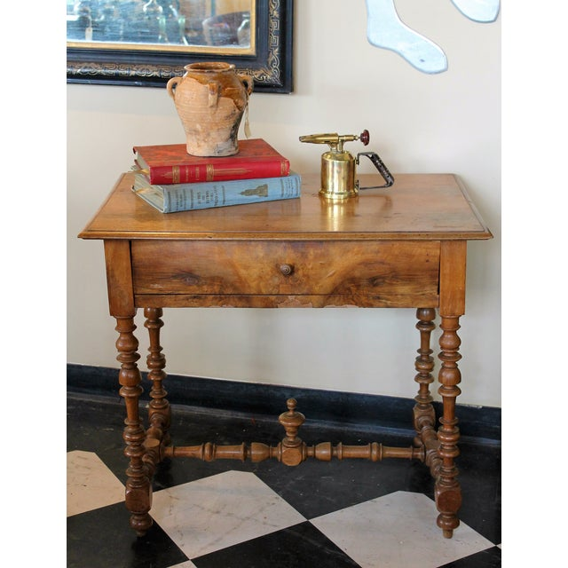 Antique French Side Table - Image 3 of 7