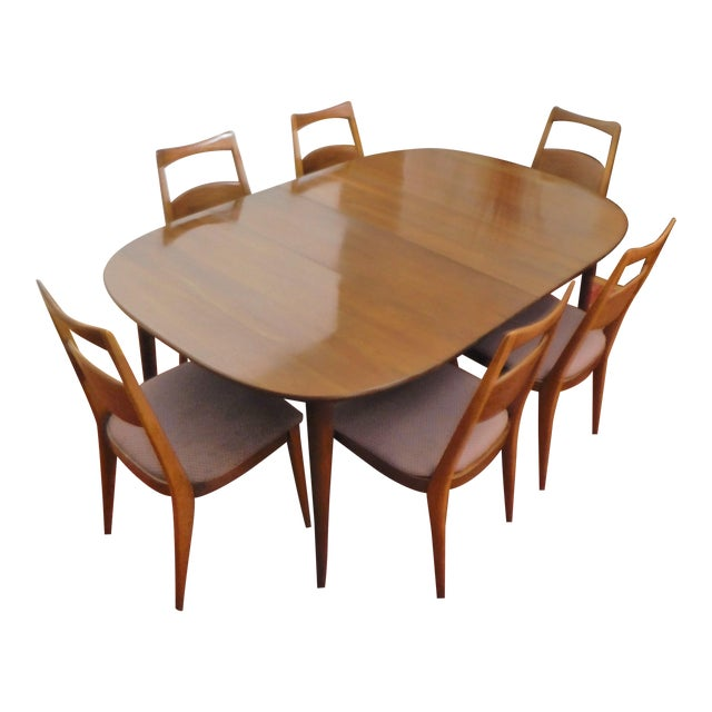 Heywood-Wakefield Solid Cherry Dining Set - Image 1 of 11