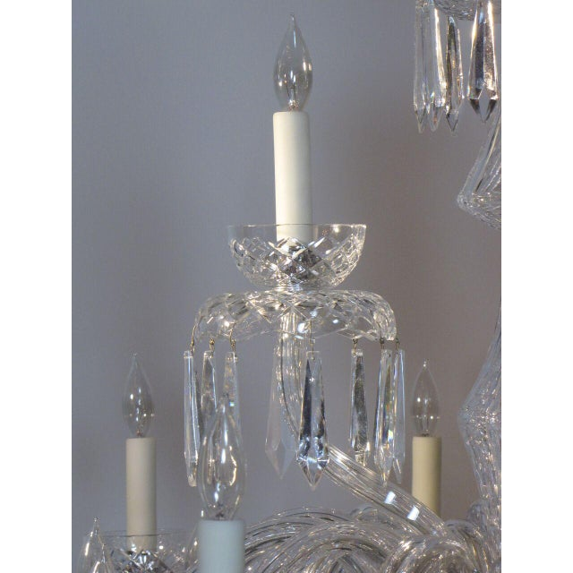 Large Waterford Chandelier For Sale - Image 10 of 10