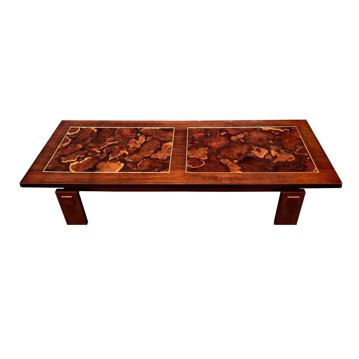 lane mid century burl wood coffee table chairish rh chairish com burl wood coffee table california burl wood coffee table glass top