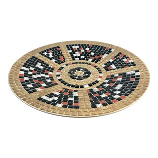 Mosaic Tile Centerpiece Server Bowl For Sale