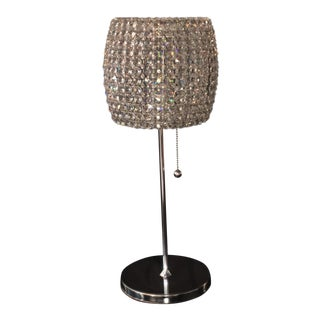 Schonbek Fr Dionyx Collection Swarovski Crystal Table Lamp Hollywood Glam For Sale
