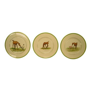 1950's Vintage Cyril Gorainoff Abercrombie & Fitch Plates - Set of 3