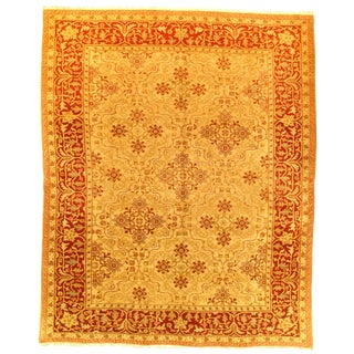 """Pasargad Ny Sino Amristar Design Rug - 8'2"""" X 10'1"""" For Sale"""