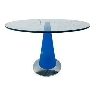 Italian Modern Parisotto Side Table Floor Lamp for Fontana Arte, 1980s For Sale