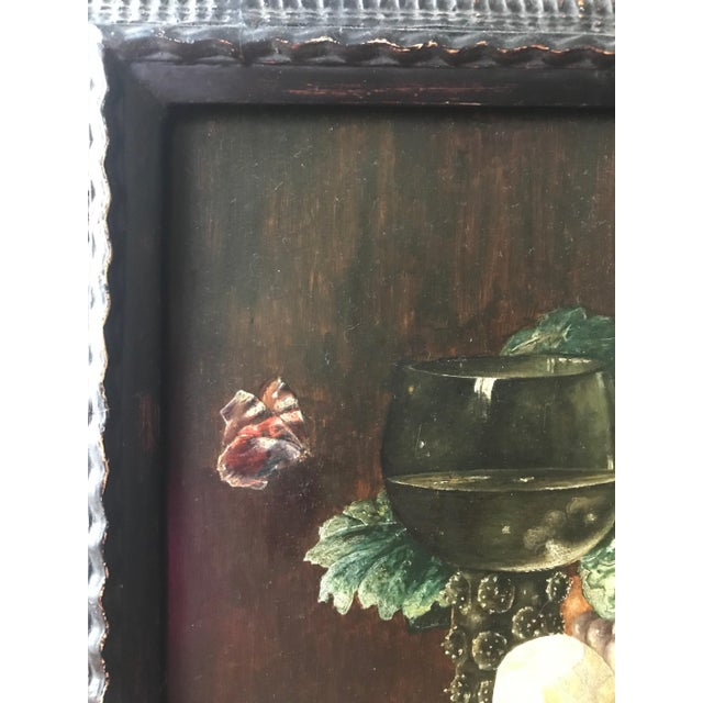 19th Century Still Life Painting After Pieter Claesz, Framed For Sale In West Palm - Image 6 of 9