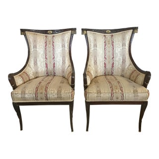 Antique French Louis XV Chairs - A Pair