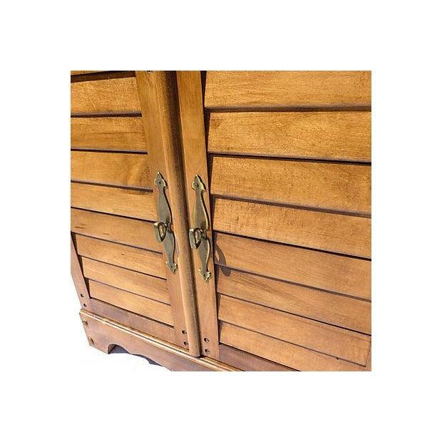 Vintage Maple File Cabinet For Sale - Image 4 of 8