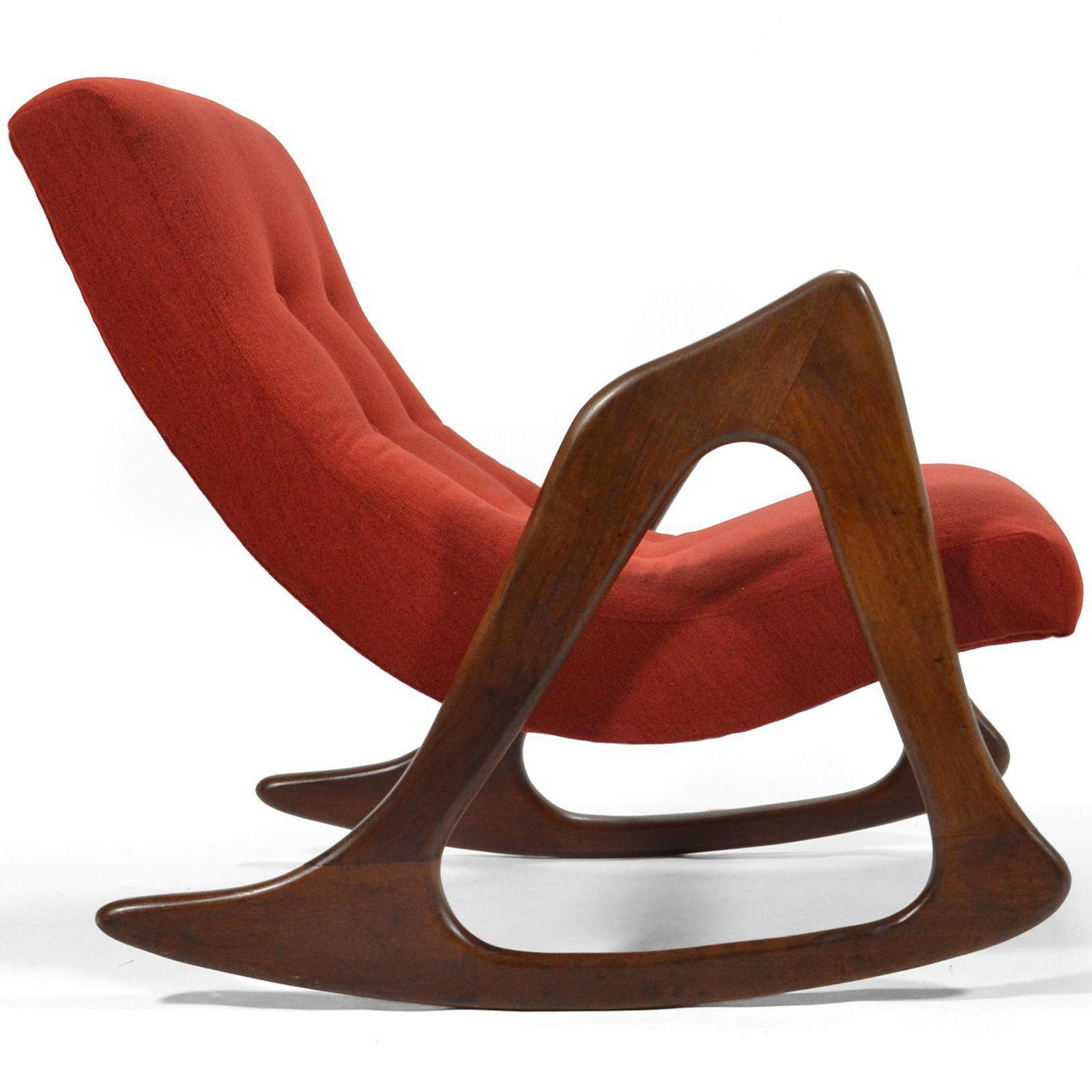Adrian Pearsall Rocking Chair By Craft Associates   Image 8 Of 8