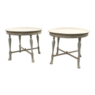 Neoclassical Coffee Tables - a Pair For Sale
