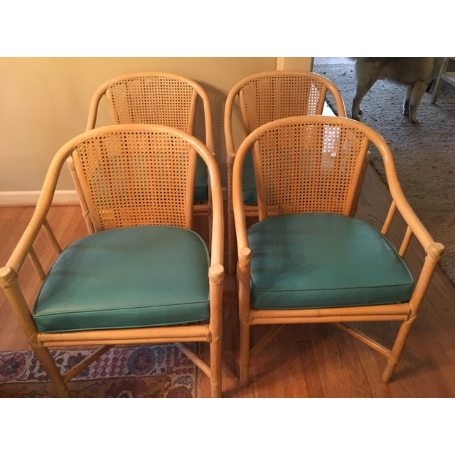 McGuire Dining Chairs - Set of 4 For Sale - Image 5 of 5