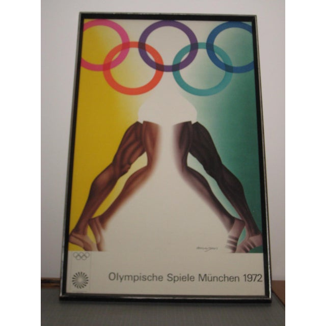 Mid-Century Modern 1972 Olympic Games Munich Original Poster by Allen Jones For Sale - Image 3 of 6