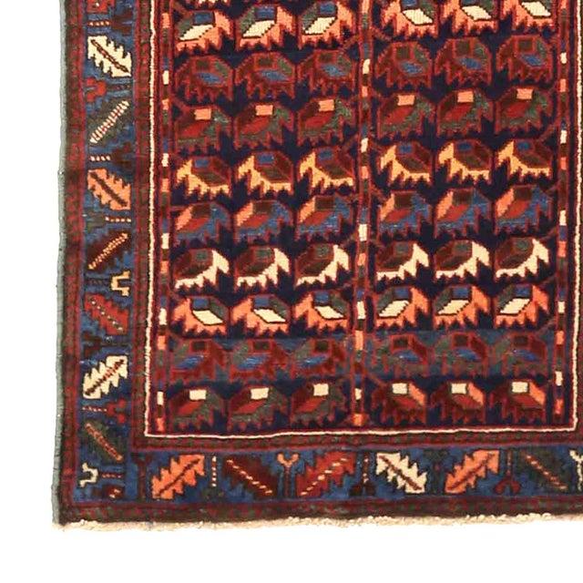 Persian 1940s Persian Runner Rug Bakhtiar Design For Sale - Image 3 of 5