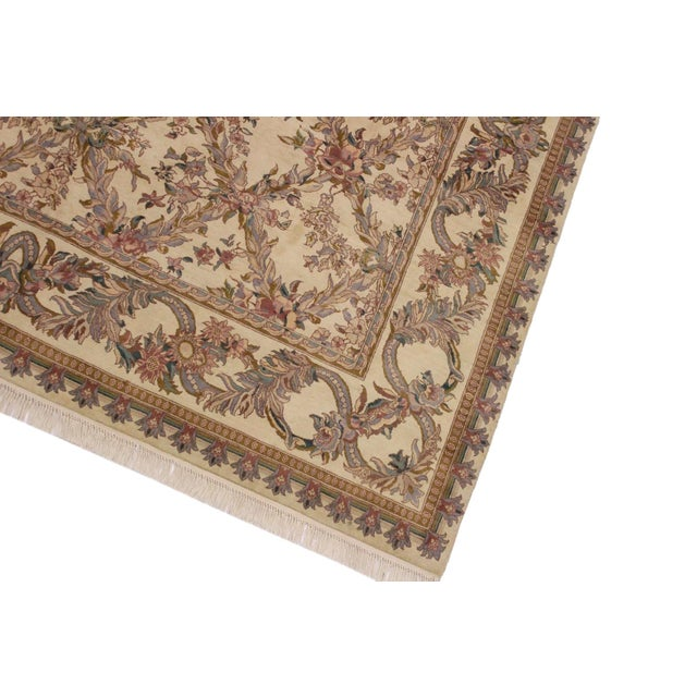 Traditional Victorian Basan Pak-Persian Rossana Wool Rug - 8′5″ × 10′ For Sale - Image 3 of 9