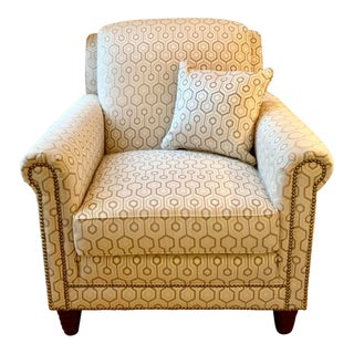 Modern Vanguard Accent Chair For Sale