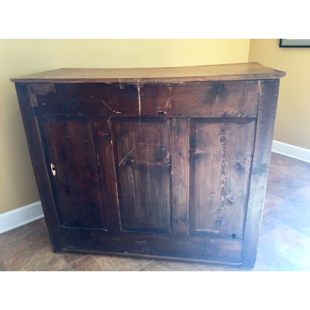 French 19th Century French Country Cherry Cabinet For Sale - Image 3 of 13