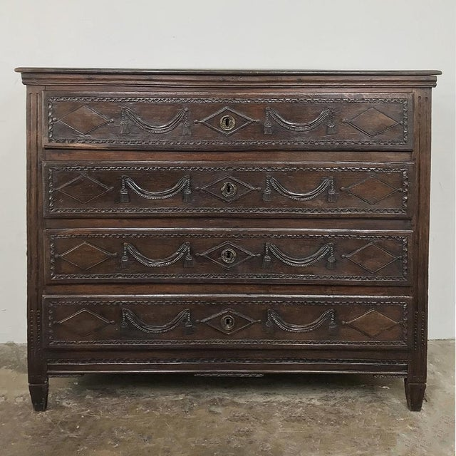 18th Century Country French Louis XVI Commode For Sale - Image 4 of 12